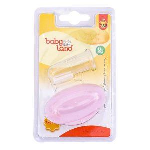 مسواک انگشتی نوزاد بی بی لند (Baby Land)کد288