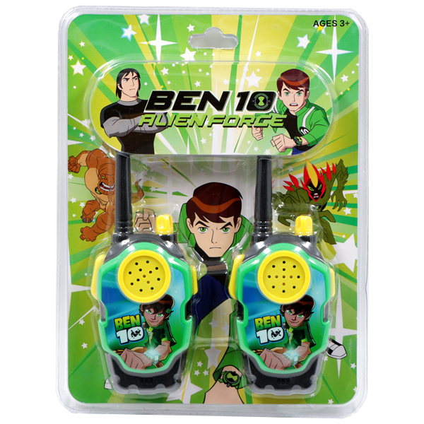 بیسیم بازی BEN 10 مدل ALIEN FORCE