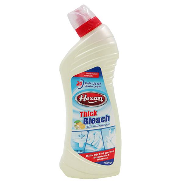 مایع سفید کننده غلیظ هگزان حجم 750 میلی لیتر