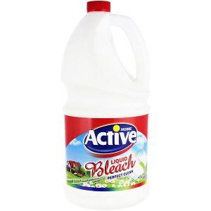 مایع سفید کننده اکتیو حاوی عصاره گل بهاری حجم 4 لیتر