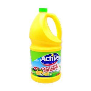 مایع سفید کننده اکتیو حاوی عصاره لیمو حجم 4 لیتر