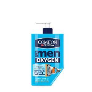ژل اصلاح مردانه کامان مدل OXYGEN حجم 260 میل