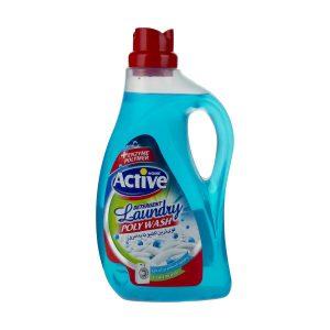 مایع لباسشویی پلی واش اکتیو حجم 2.5 لیتری آبی