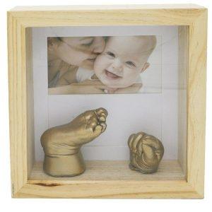 قاب عکس با اثر سه بعدی دست و پا بیبی برنارد