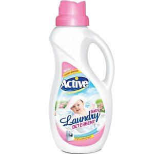 مایع لباسشویی کودک اکتیو حجم 1.5 لیتری صورتی