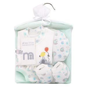 ست بیمارستانی 7 تکه نوزاد مادرکر Mothercare کد 284