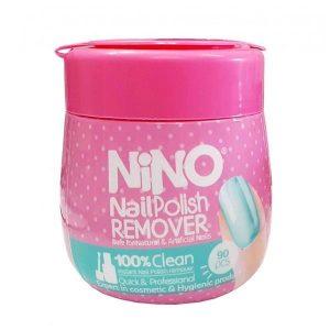 دستمال مرطوب پاک کننده لاک نینو بسته 90 عددی
