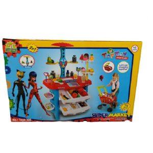 اسباب بازی سوپر مارکت تاپ توی مدل دختر کفشدوزکی کد 306
