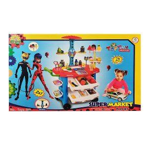 اسباب بازی سوپر مارکت تاپ توی مدل دختر کفشدوزک کد 305