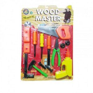 ست 15تکه ابزار کودک مدل masterwood