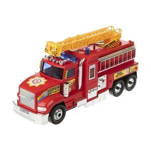ماشین آتش نشان بزرگ درج توی