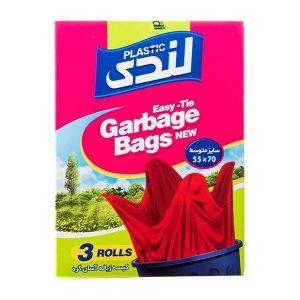کیسه زباله آسان گره لندی Landi سایز متوسط 42 عددی