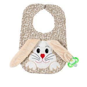 پیشبند کوکالو (CoCaLo) طرح خرگوش گوش دراز کرم