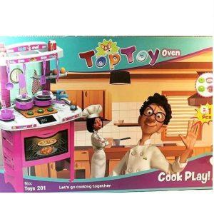 اسباب بازی ست آشپزخانه تاپ توی مدل موش سرآشپز کد 201