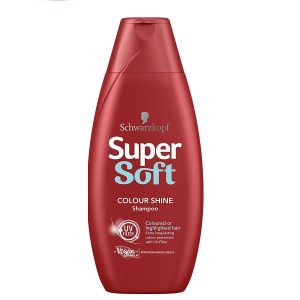شامپو تثبیت کننده رنگ مو سوپر سافت Super Soft حجم 400 میل
