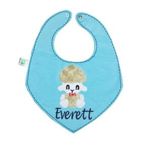 پیشبند طرح دستمال گردنی کوکالو (CoCaLo) رنگ آبی