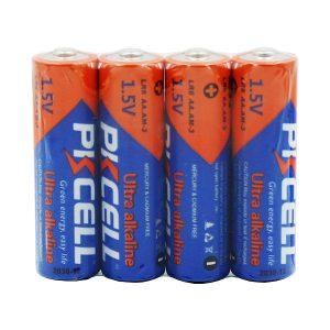 باتری قلمی PKCELL مدل Ultra alkaline شرینک 4 عددی