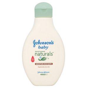 شامپو بدن جانسون مناسب پوست های خشک مدل naturals