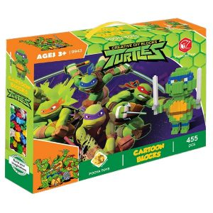 لگو 455 قطعه پویا طرح لاکپشت های نینجا