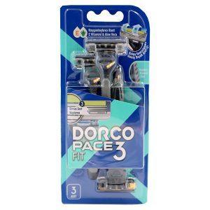 خود تراش دورکو DORCO مدل PACE3 بسته 3 عددی