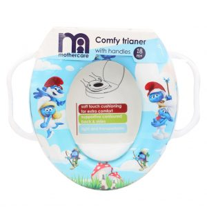 تبدیل توالت فرنگی مادرکر Mothercare طرح اسمورف ها