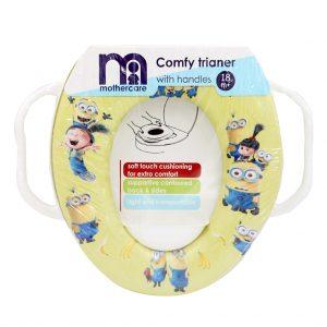 تبدیل توالت فرنگی مادرکر Mothercare طرح مینیون