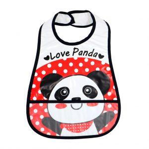 پیشبند کاسه ای فلکسی طرح Love panda