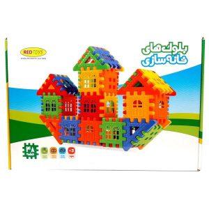 بلوک خانه سازی 48 قطعه RED TOYS
