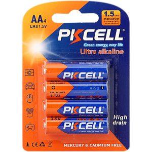 باتری قلمی PKCELL مدل Ultra alkaline بسته 4 عددی
