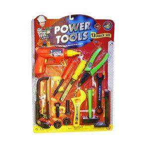 ست 13تکه ابزار کودک مدل powertools