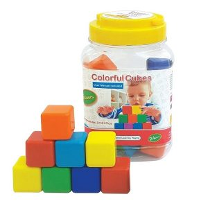 بازی فکری مکعبهای رنگی (۲۴ عددی)