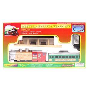 اسباب بازی قطار کلاسیک مدل Western