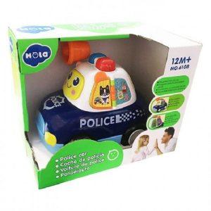 ماشین پلیس هولی تویز (Huile Toys) کد 6108