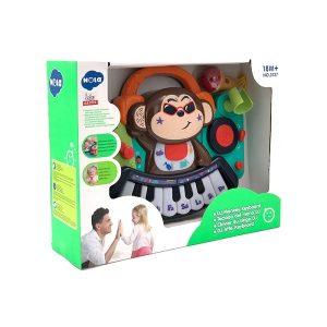 اسباب بازی ارگ میمون هولی تویز ( Huile toys ) کد 3137