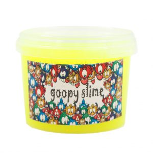 ژل بازی اسلایم Goopy slime مدل فلور-زرد حجم 300 گرم