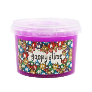 ژل بازی اسلایم Goopy slime مدل فلور-بنفش حجم 300 گرم