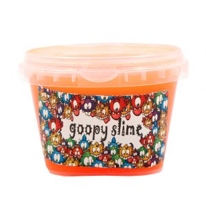 ژل بازی اسلایم Goopy slime مدل فلور-نارنجی حجم 300 گرم