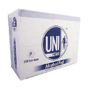 پد الکل یونی مد ( UNI MED ) 100 عددی
