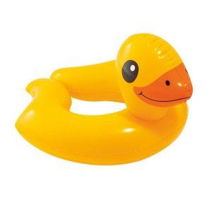 حلقه شناور بادی کودک اینتکس INTEX مدل اردک