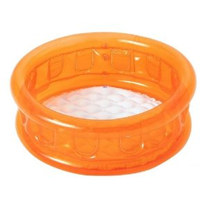 استخر بادی شیشه ای کودک Bestway رنگ نارنجی