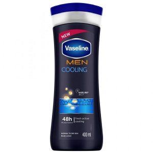 لوسیون بدن مردانه مرطوب و خنک کننده وازلین Vaseline حجم 400 میلی لیتر