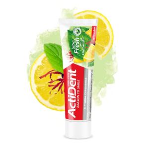 خمیر دندان اولترا فرش اکتیدنت  ActiDent حاوی عصاره لیمو و هاماملیس
