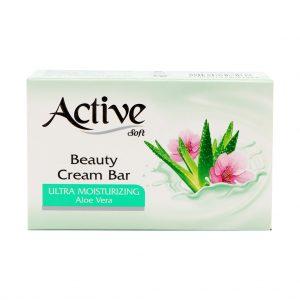 صابون صورت و بدن اکتیو Active با رایحه آلوئه ورا حجم 125 گرم