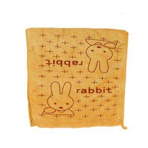 دستمال آبگیری و نظافت 40*40 سانتی متر طرح خرگوش طلایی
