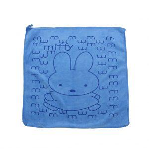 دستمال آبگیری و نظافت 40*40 سانتی متر طرح خرگوش آبی