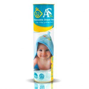 کیسه مخصوص پوشک نوزاد AS بسته 30 عددی