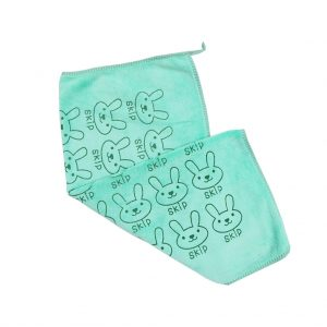 دستمال آبگیری و نظافت طرح خرگوش آبی