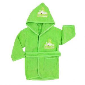حوله تن پوش کودک چیوکو Chioco رنگ سبز