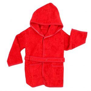 حوله تن پوش کودک چیوکو Chioco رنگ قرمز