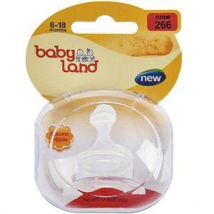 سر شیشه ارتودنسی بی بی لند (Baby Land) کد 266 مناسب 6 تا 18 ماه